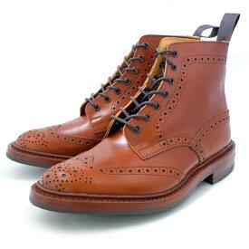 正規品 トリッカーズ カントリーブーツ Tricker's ウイングチップブーツ 【Style:M2508(マロン ダイナイト)フィッティング:5】送料無料 英国靴 革 レザー 靴 カントリーブーツ Trickers ウィングチップ 【あす楽対応】