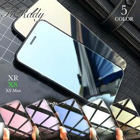 iPhoneケース/iPhoneX/iPhoneXS/iPhoneXR/鏡面/ミラー/プロテクター/ガラスフィルム/保護シール/画面フィルムあす楽対応