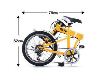 Renault folding bike RENAULT FDB186 18-inch