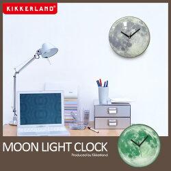 ムーンライト掛け時計キッカーランドムーンライトクロック蓄光月