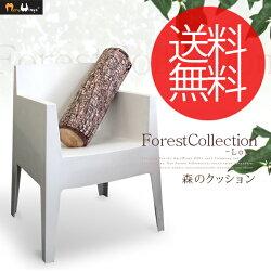 クッションForestCollectionRound(フォレストコレクション/ログ)
