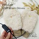 ミア キャット USB ウォーム グローブ Mia Cat USB Warm Gloves ウォームグローブ 手袋 冬 USB電源 温度調節 タイマー…