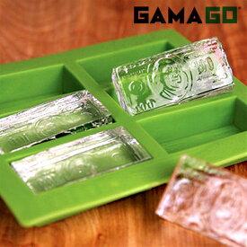 【ネコポス便200円】Cold Hard Cash コールドハードキャッシュ アイスキューブトレイ 氷 札束 製氷器 製氷皿 GAMAGO ガマゴー