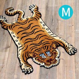 【ポイント10倍】ラグ Tibetan Tiger Rug Mサイズ DTTR-01 DTTR-02 medium チベタンタイガーラグ レッド ブルー