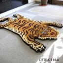 ラグ Tibetan Tiger Rug DTTR-01 DTTR-02 small チベタンタイガーラグ レッド ブルー【ポイント10倍】