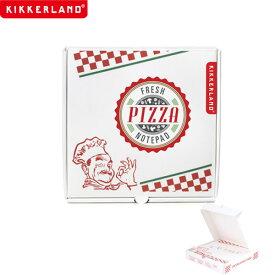 【ネコポス 200円】【ポイント10倍】メモ ふせん Pizza Notepad ピザノートパッド KIKKERLAND
