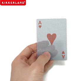 【ネコポス便200円】トランプ micro dots transparent card マイクロ ドッツ トランスパレント カード
