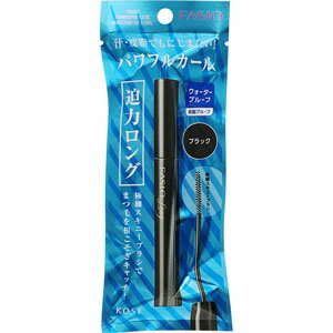 ファシオ パワフルカール マスカラ EX (ロング) BK001 ブラック