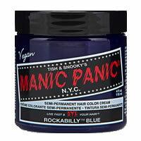 manic panic(マニックパニック) ヘアカラー ロカビリーブルー 118ml