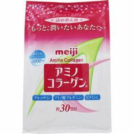 アミノコラーゲン(アミコラ) 詰替えタイプ214g meiji 明治(賞味期限 2021.3.10)[配送区分:A]