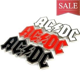【メール便対応】ベルト バックル AC/DC ヘビーメタルバンド 白 赤 黒【レザーベルト バックル 取替え パーツ メンズ 販売 革ベルト バックル 簡単取り替え ベルト装着 合金製 ハーレー バイカー】buc-00344 ┃