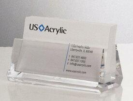 カードスタンド カードケース ◆おしゃれなデザインでカード整理に最適 斜めカードホルダー 5142 アクリル製