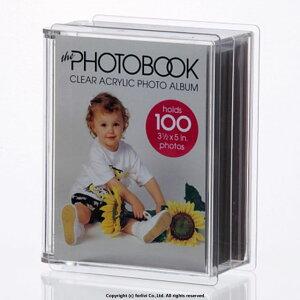 写真はがきアルバム ポストカード入れ◆フォトアルバム フォトファイル フォトブック 1350 写真L版サイズ 100枚 ウエディング プレゼント アクリル製