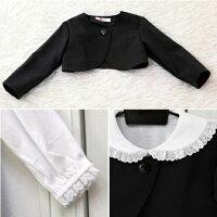 法事のときの子供服・お葬式・お通夜・女の子・冠婚葬祭・黒ワンピース