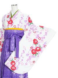 女性卒業袴二尺袖