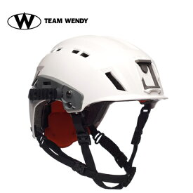 TEAM WENDY (チームウェンディ) ヘルメット本体 EXFIL SAR TACTICAL WHITE (81R-WH) サバゲー 装備