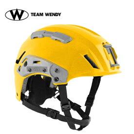 TEAM WENDY (チームウェンディ) ヘルメット本体 EXFIL SAR TACTICAL YELLOW (81R-YL) サバゲー 装備