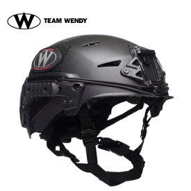 TEAM WENDY (チームウェンディ) ヘルメット本体 EXFIL Carbon Helmet BK M/L (TW-71 ) サバゲー 装備
