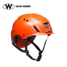 TEAM WENDY (チームウェンディ) ヘルメット本体 EXFIL SAR BACKCOUNTRY NO RAILS U.S. Coast Guard Orange (82N-OR) サバゲー 装備
