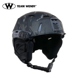 TEAM WENDY (チームウェンディ) ヘルメット本体 M-216 SKI SAR S/M MCBK/GR ( 83-1MBGY) サバゲー 装備