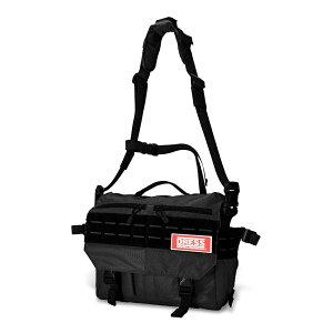 DRESS ショルダーマルチメッセンジャーバッグ 【ブラック】カラー 釣り ライラクス (4571443169013) LAYLAX ドレス