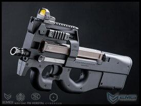 新製品予約 12月上旬 KRYTAC 海外製電動ガン本体 FN P90 (AEG-KTAEG-FNP90-BK01) エアガン 18歳以上 サバゲー 銃