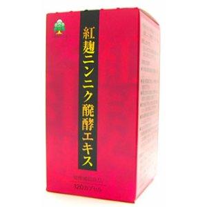 湧永製薬 紅麹ニンニク醗酵エキス 120カプセル