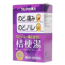 【第2類医薬品】ツムラ漢方 桔梗湯 エキス顆粒 8包 [【2個セット・メール便(送料込)】※代引・日時・時間・同梱は不可]