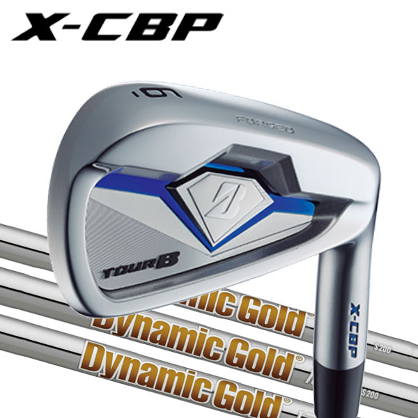 ブリヂストンゴルフ 2018NEW ツアーB X-CBP (ポケットキャビティ) アイアンセット [ニューダイナミックゴールドシリーズ] DG120/DG105/DG95スチールシャフト 5本セット(#6〜PW) BRIDGESTONE TourB XCBP IRONNEW DG