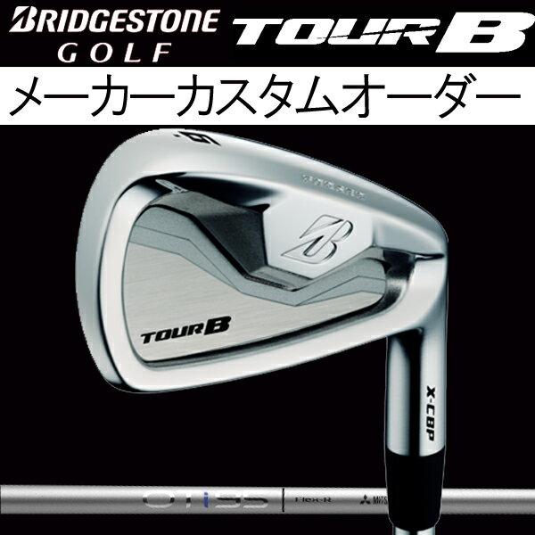 ブリヂストンゴルフ ツアーB X-CBP (ポケットキャビティ)アイアンセット [OTアイアン シリーズ] OT Iron i105/i95/i85/i75 カーボンシャフト 5本セット(#6〜#9, PW) 三菱レイヨン