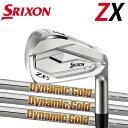 スリクソン NEW ZXシリーズZX5 アイアン [ニューダイナミックゴールド] NEW DG DG120/DG105/DG95スチールシャフト 5本…