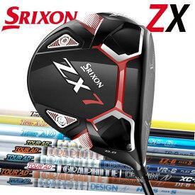 スリクソン NEW ZXシリーズZX7 ドライバー [ツアーAD シリーズ] HD/XC/TP/VR/IZ/GP/MJ カーボンシャフト Tour AD グラファイトデザインDUNLOP SRIXON ゼットエックス セブン