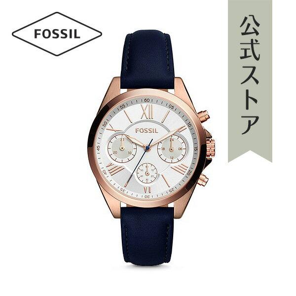 <10%OFFクーポン配布中/27日まで>『父の日 公式ショッパープレゼント』30%OFF フォッシル 腕時計 公式 2年 保証 Fossil レディース クロノグラフ BQ3121I CHRONOGRAPH