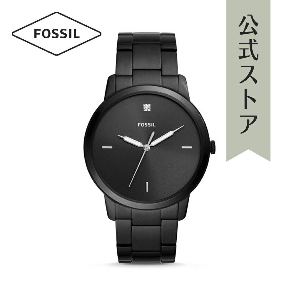 今すぐ使える5%OFFクーポン配布中!2018 秋の新作 フォッシル 腕時計 公式 2年 保証 Fossil メンズ ザ・ミニマリスト 3H THE MINIMALIST 3H FS5455