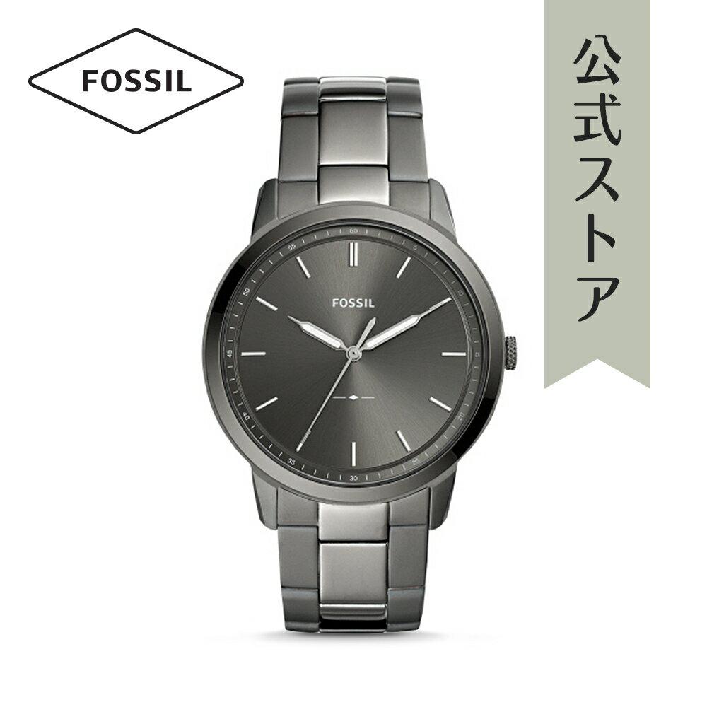 今すぐ使える5%OFFクーポン配布中!2018 秋の新作 フォッシル 腕時計 公式 2年 保証 Fossil メンズ ザ・ミニマリスト 3H THE MINIMALIST 3H FS5459