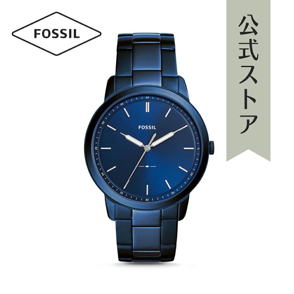 今すぐ使える5%OFFクーポン配布中!2018 秋の新作 フォッシル 腕時計 公式 2年 保証 Fossil メンズ ザ・ミニマリスト 3H THE MINIMALIST 3H FS5461