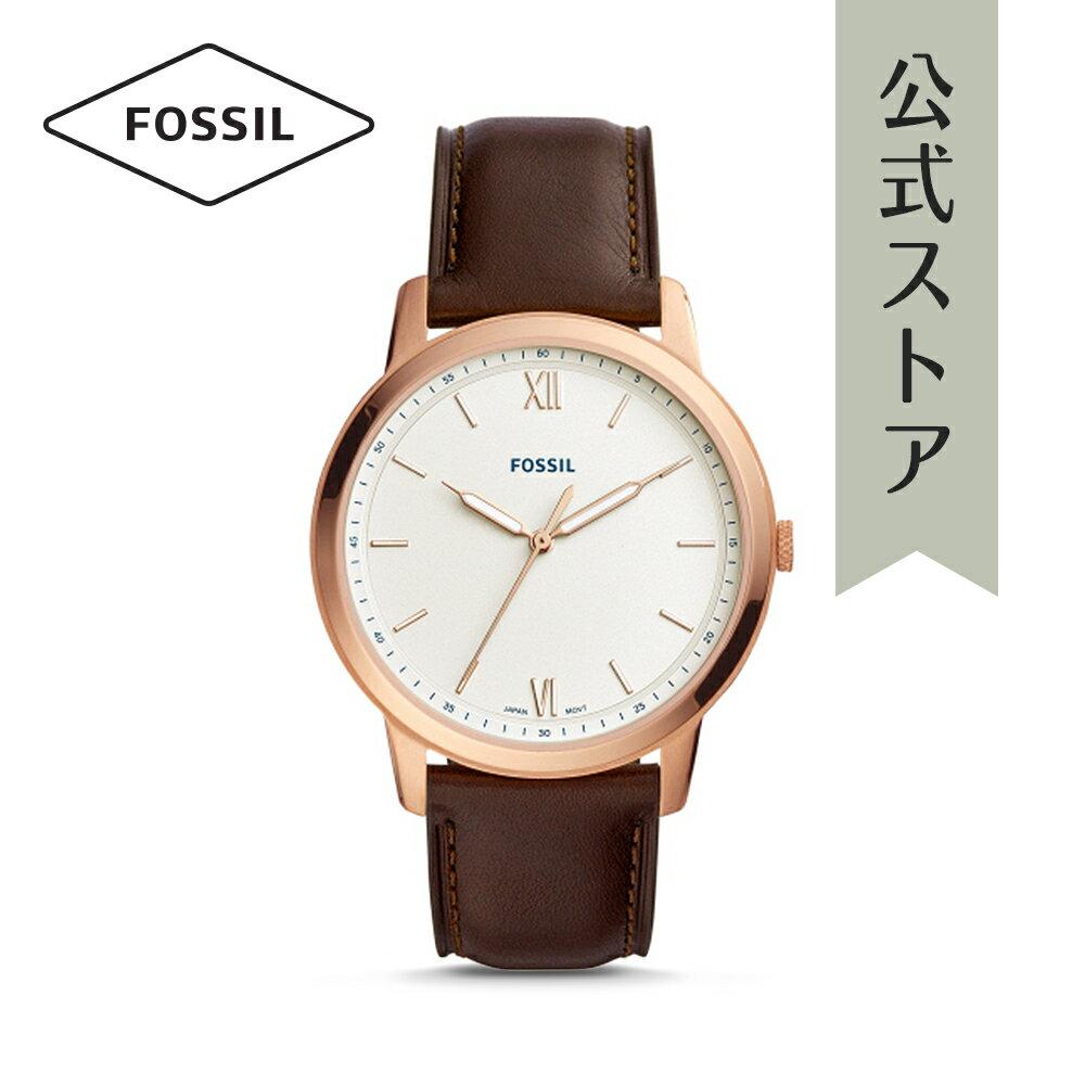 『ポイント最大33倍/12月11日1:59まで』2018 秋の新作 フォッシル 腕時計 公式 2年 保証 Fossil メンズ ザ・ミニマリスト FS5463 THE MINIMALIST