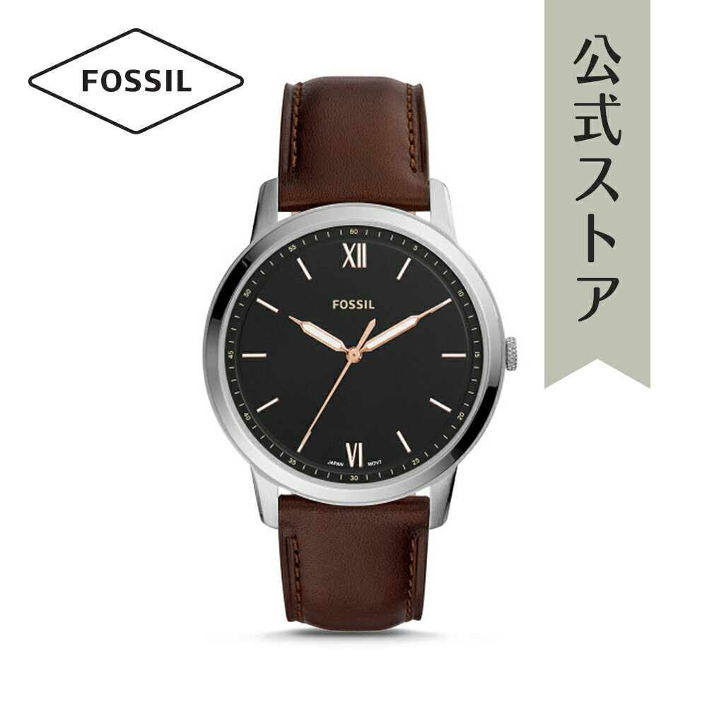 今すぐ使える5%OFFクーポン配布中!2018 秋の新作 フォッシル 腕時計 公式 2年 保証 Fossil メンズ ザ・ミニマリスト 3H THE MINIMALIST 3H FS5464