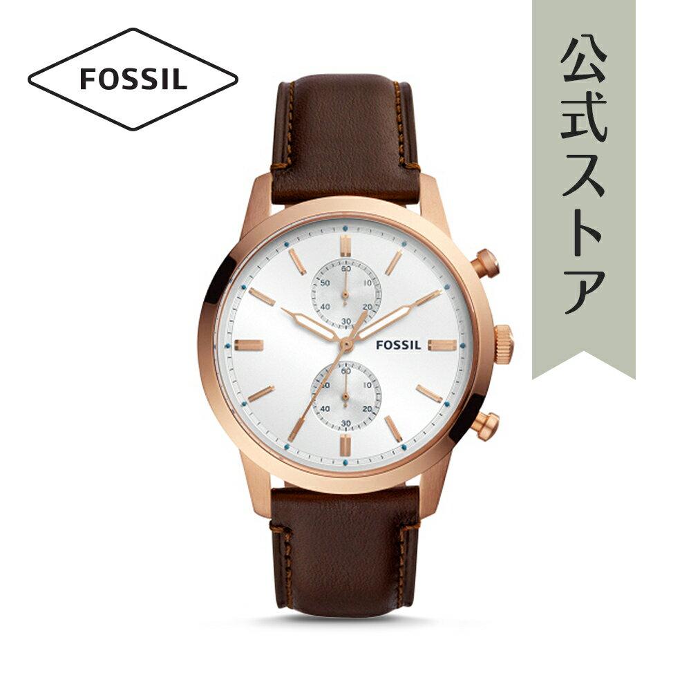 今すぐ使える5%OFFクーポン配布中!2018 秋の新作 フォッシル 腕時計 公式 2年 保証 Fossil メンズ 44MM タウンズマン 44MM TOWNSMAN FS5468