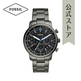 【30%OFF 増税前!お得セール中】2019 春の新作 フォッシル 腕時計 公式 2年 保証 Fossil メンズ FS5518 GOODWIN CHRONO 44mm