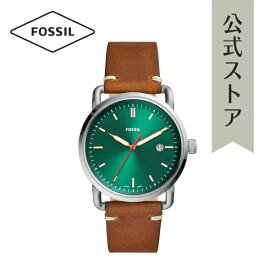 30%OFF 2019 夏の新作 フォッシル 腕時計 メンズ Fossil 時計 FS5540 THE COMMUTER 3H DATE 42mm 公式 2年 保証