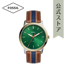 30%OFF 2019 夏の新作 フォッシル 腕時計 メンズ Fossil 時計 FS5550 THE MINIMALIST 3H 44mm 公式 2年 保証