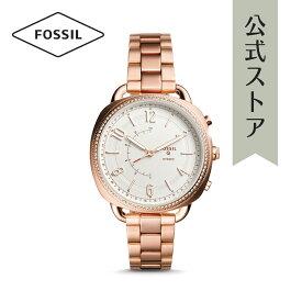 【50%OFF】フォッシル スマートウォッチ ハイブリッド 腕時計 レディース Fossil 時計 iphone android 対応 ウェアラブル Smartwatch アコンプリス FTW1208 ACCOMPLICE 公式 2年 保証