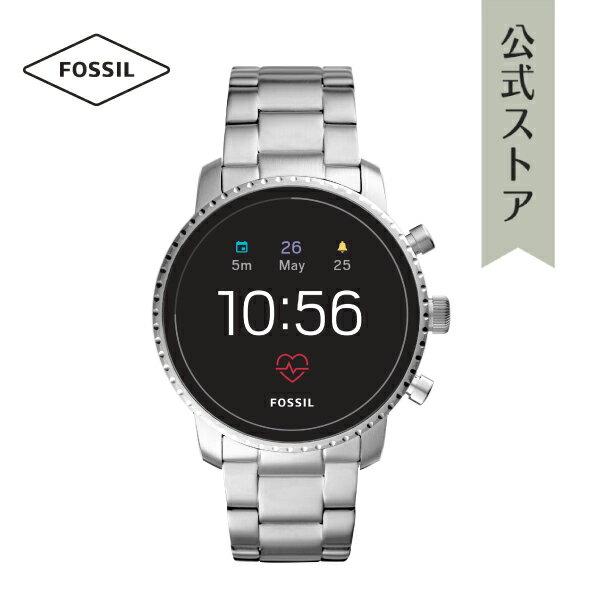 【P最大17倍/〜24日】『ホワイトデー ラッピング用品プレゼント』2018 秋の新作 ジェネレーション4 フォッシル タッチスクリーン スマートウォッチ 公式 2年保証 Fossil Smartwatch 腕時計 メンズ エクスプローリースト FTW4011 EXPLORIST HR