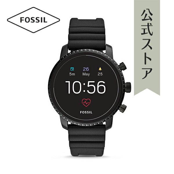 【P最大17倍/〜24日】『ホワイトデー ラッピング用品プレゼント』2018 秋の新作 ジェネレーション4 フォッシル タッチスクリーン スマートウォッチ 公式 2年保証 Fossil Smartwatch 腕時計 メンズ エクスプローリースト FTW4018 EXPLORIST HR