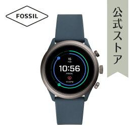 【増税前クーポン発行中!15日〜30日まで】フォッシル タッチスクリーン スマートウォッチ 公式 2年保証 Fossil Sport Smartwatch 腕時計 メンズ FTW4021 43mm