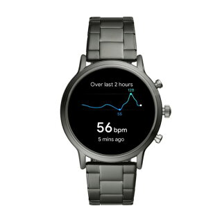 【公式ショッパープレゼント】2019秋の新作ジェネレーション5フォッシルタッチスクリーンスマートウォッチ公式2年保証FossilSmartwatch腕時計メンズFTW4024
