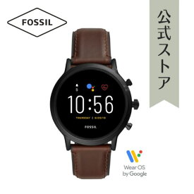2019 秋の新作 ジェネレーション5 フォッシル タッチスクリーン スマートウォッチ 公式 2年保証 Fossil Smartwatch 腕時計 メンズ FTW4026