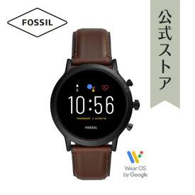 【BLACK FRIDAY限定!クーポン利用でさらに40%OFF!】フォッシル スマートウォッチ タッチスクリーン ジェネレーション5 腕時計 メンズ Fossil 時計 Smartwatch FTW4026 公式 2年 保証