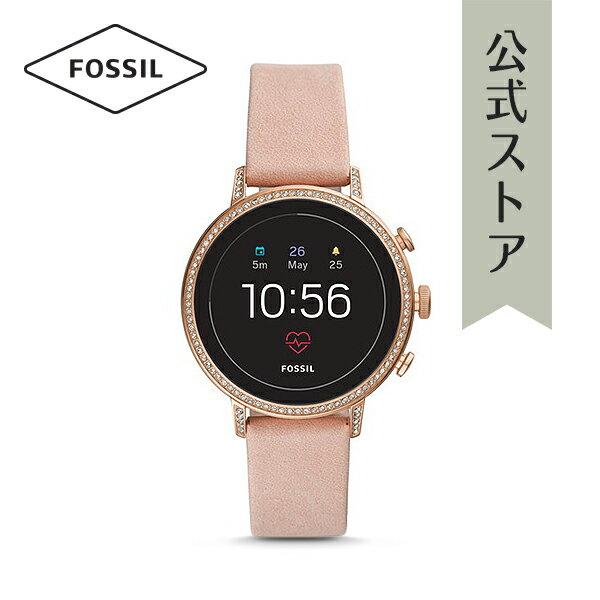 [イベント中] イヤホン プレゼント! 2018 秋の新作 ジェネレーション4 フォッシル タッチスクリーン スマートウォッチ 公式 2年保証 Fossil Smartwatch 腕時計 レディース ベンチャー FTW6015 VENTURE HR